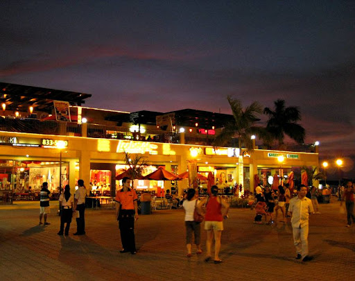 Harbour Square after sunset