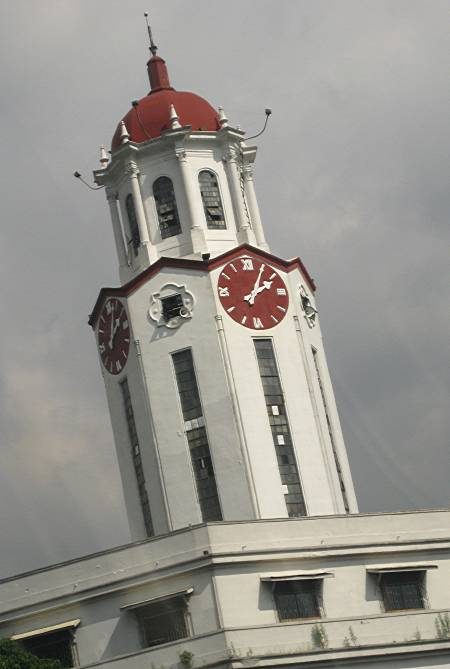 Manila City Hall clock tower