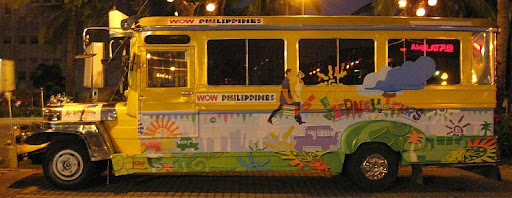 luxury jeepney of Jeepney Tours Manila