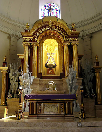 altar area of the Malate Church