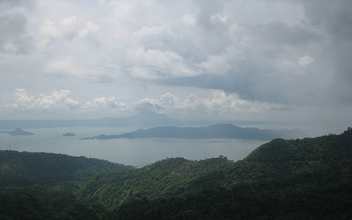 Taal Lake and Volcano viewed from Tagaytay City