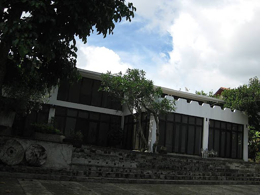 veranda of the main house of Hacienda Isabella in Indang, Cavite