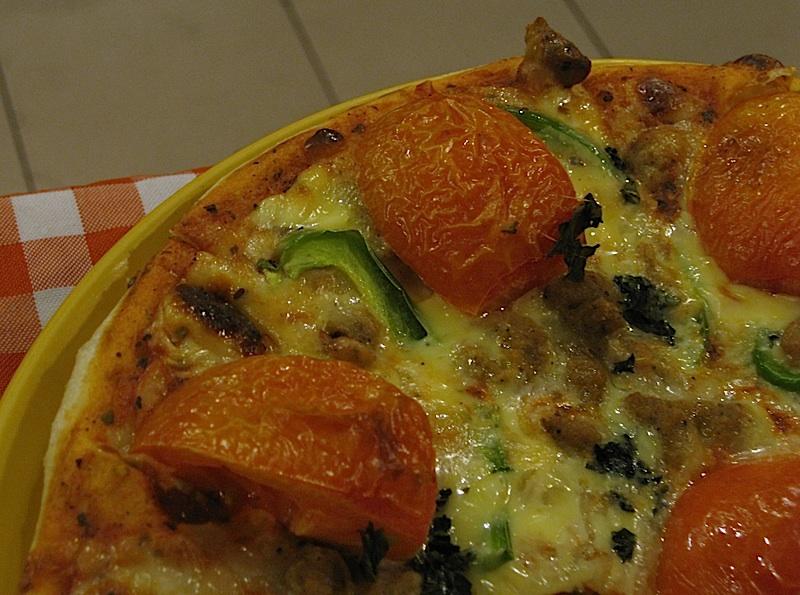 Friuli Trattoria's Margherita pizza
