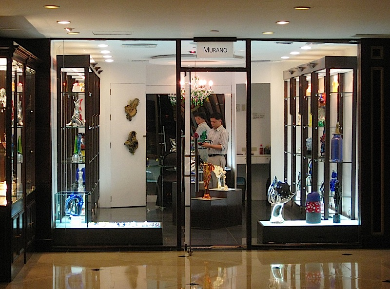 Murano store in Sofitel Philippine Plaza