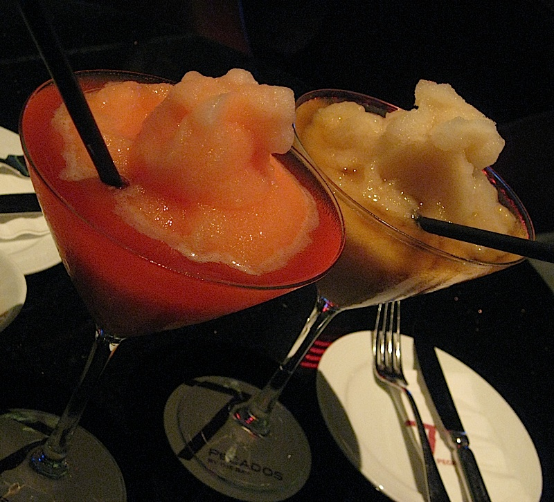 frozen cocktails at 7Pecados