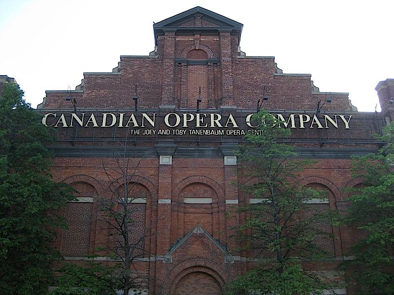 Canadian Opera Company, Toronto