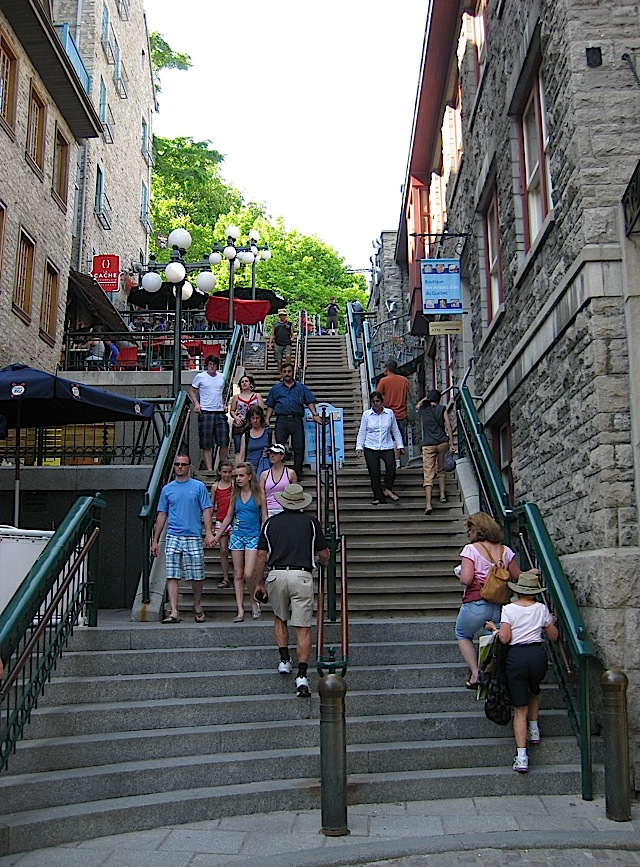 Escalier Casse-Cou at Quartier Petit Champlain, Quebec City