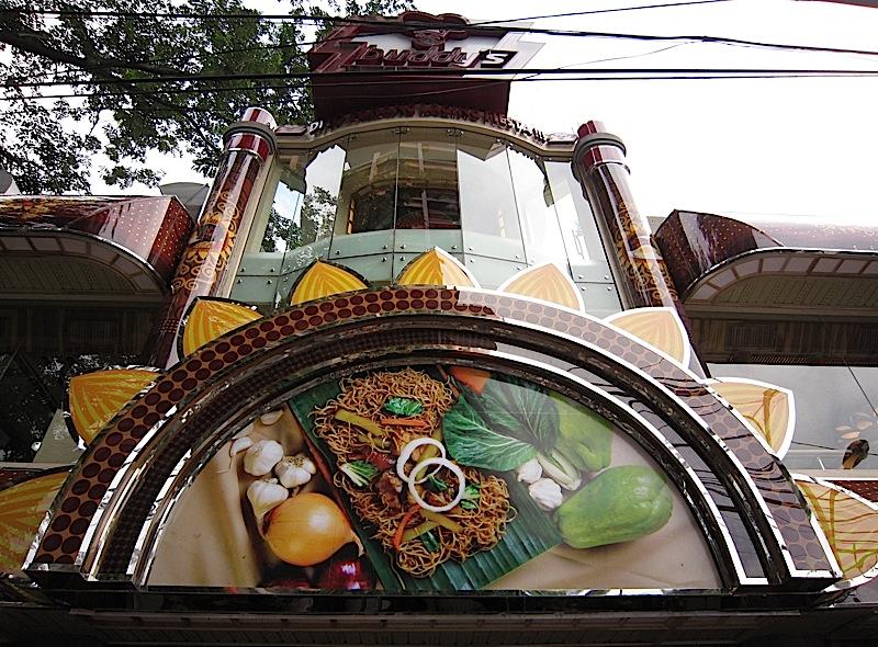 Buddy's Pancit Lucban at Longganisang Lucban restaurant along Timog Avenue