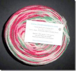 Freshile Fibers - Double Down - Watermelon