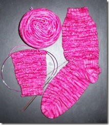 Hearts A Plenty Sock 2