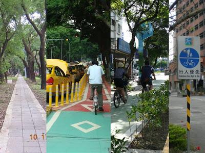 台北市通勤自行車道評比