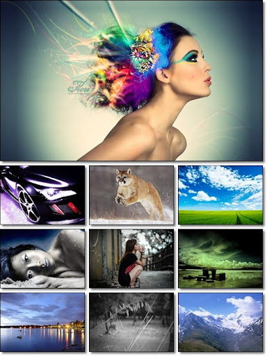 Full HD Mixed Wallpapers Pack