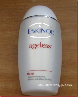 eskinol ageless toner, by bitsandtreats