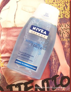 nivea visage refreshing toner, by bitsandtreats