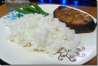 pan fried tanigue with lemon butter sauce, by 240baon