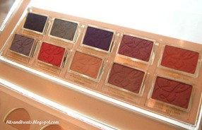 estee lauder pure color eyeshadows, by bitsandtreats