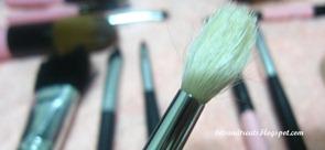 charm blending brush after washing, by bitsandtreats