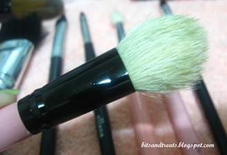 charm blush brush after washing, by bitsandtreats