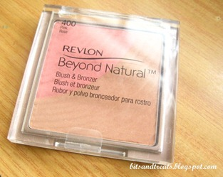 revlon beyond natural blush and bronzer, by bitsandtreats