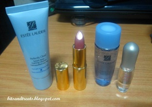 estee lauder press kit contents, by bitsandtreats