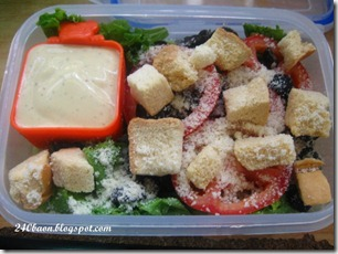 salad bento, by 240baon