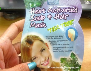 purederm tea tree heat activated hair and scalp mask, by bitsandtreats