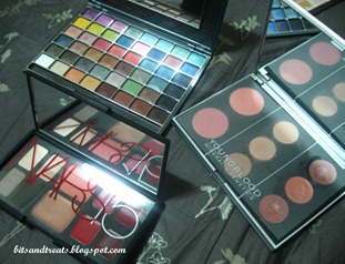 makeup palettes, by bitsandtreats