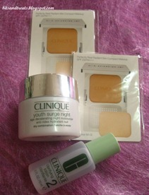 clinique goodies, by bitsandtreats