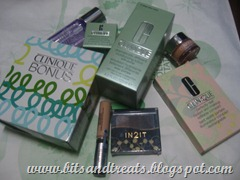 clinique and beauty by sm goodies, by bitsandtreats