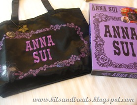 anna sui tote, by bitsandtreats