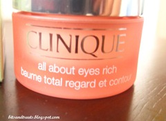 clinique all about eyes rich, by bitsandtreats