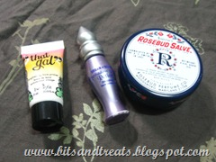 that gal face primer, UDPP, rosebud salve, by bitsandtreats