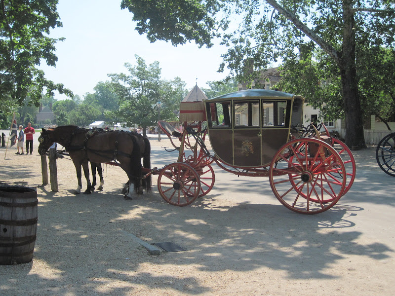 Horse Drawn Carriage 1700s And Horse Drawn Carriages