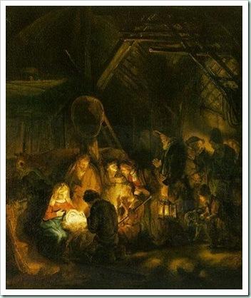 Rembrandt Nativity