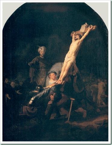 rembrandt crucifixion
