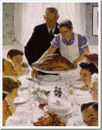 rockwell thanksgiving