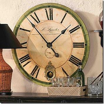 Ballard Designs clock 2