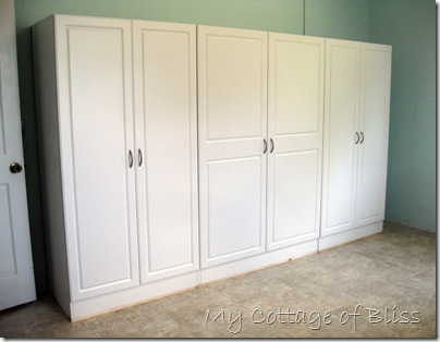 My Cottage of Bliss: Laundry Room Storage