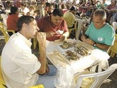 O Festival de Crustáceos faz sucesso há quase 20 anos na cidade (Foto: Divulgação)