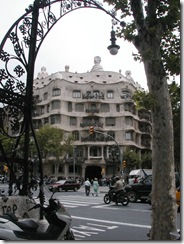 Typical Barcelona architecture
