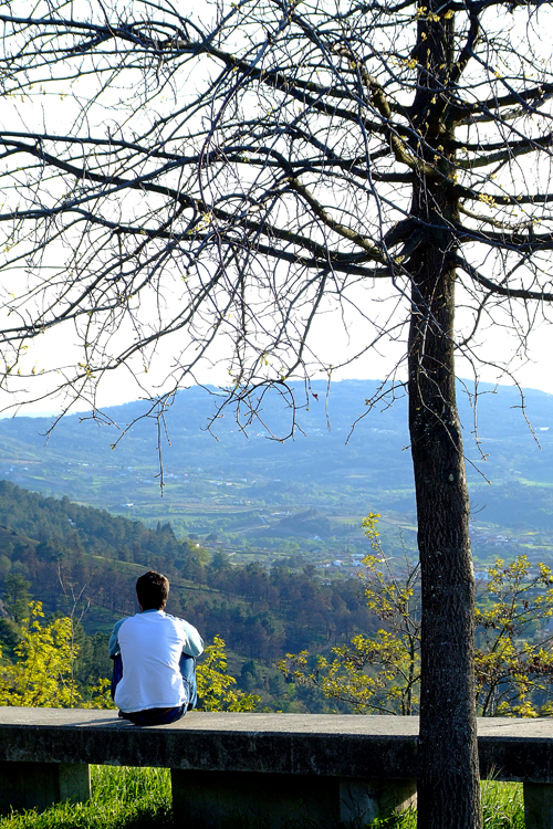 homem,linda natureza,árvores,montanhas,dicas de sucesso