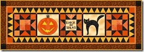 Halloween tablerunner 2