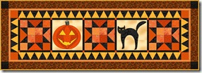 Halloween tablerunner 3