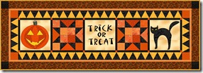 Halloween tablerunner 4