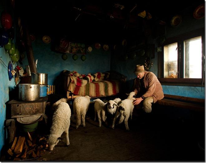 Inside his house by Mihnea Turcu