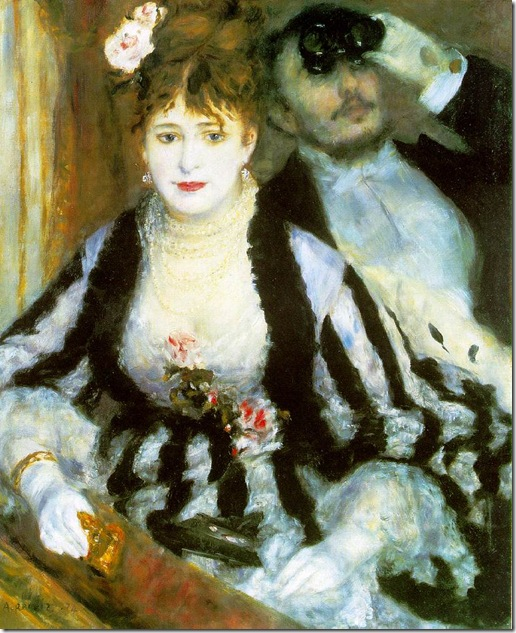 the theatre box - renoir