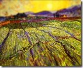 Wheat Field with Rising Sun, 1889