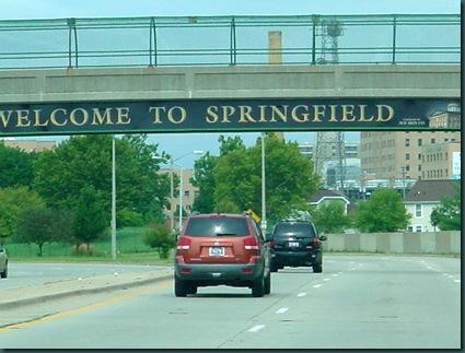 To Lincoln IL via Springfield IL 025