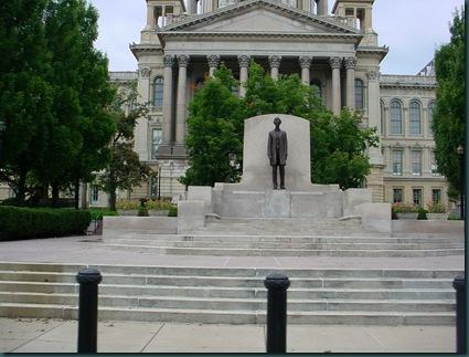To Lincoln IL via Springfield IL 042