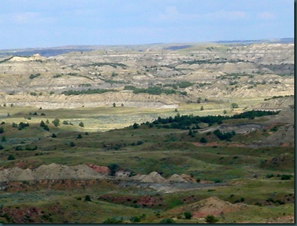Bismarck to Medora ND 076